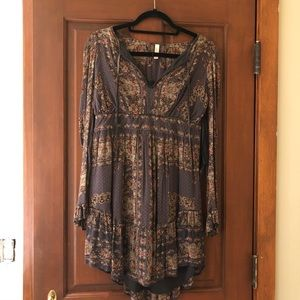Free people long-sleeved dress